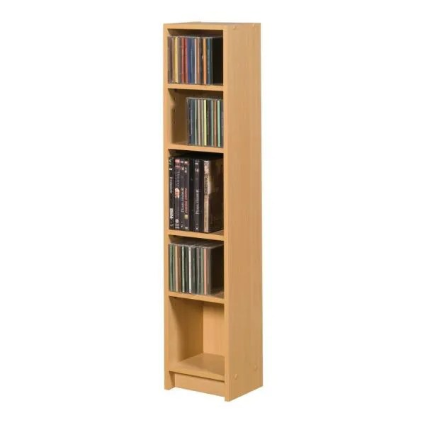 "Meuble Range Cd Range Cd-dvd 5 Niches ""initial"" - Achat / Vente Meuble"
