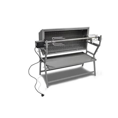 California Salon De Jardin 5 Places Barbecue Grill Pro + Tournebroche Lateral - Achat / Vente