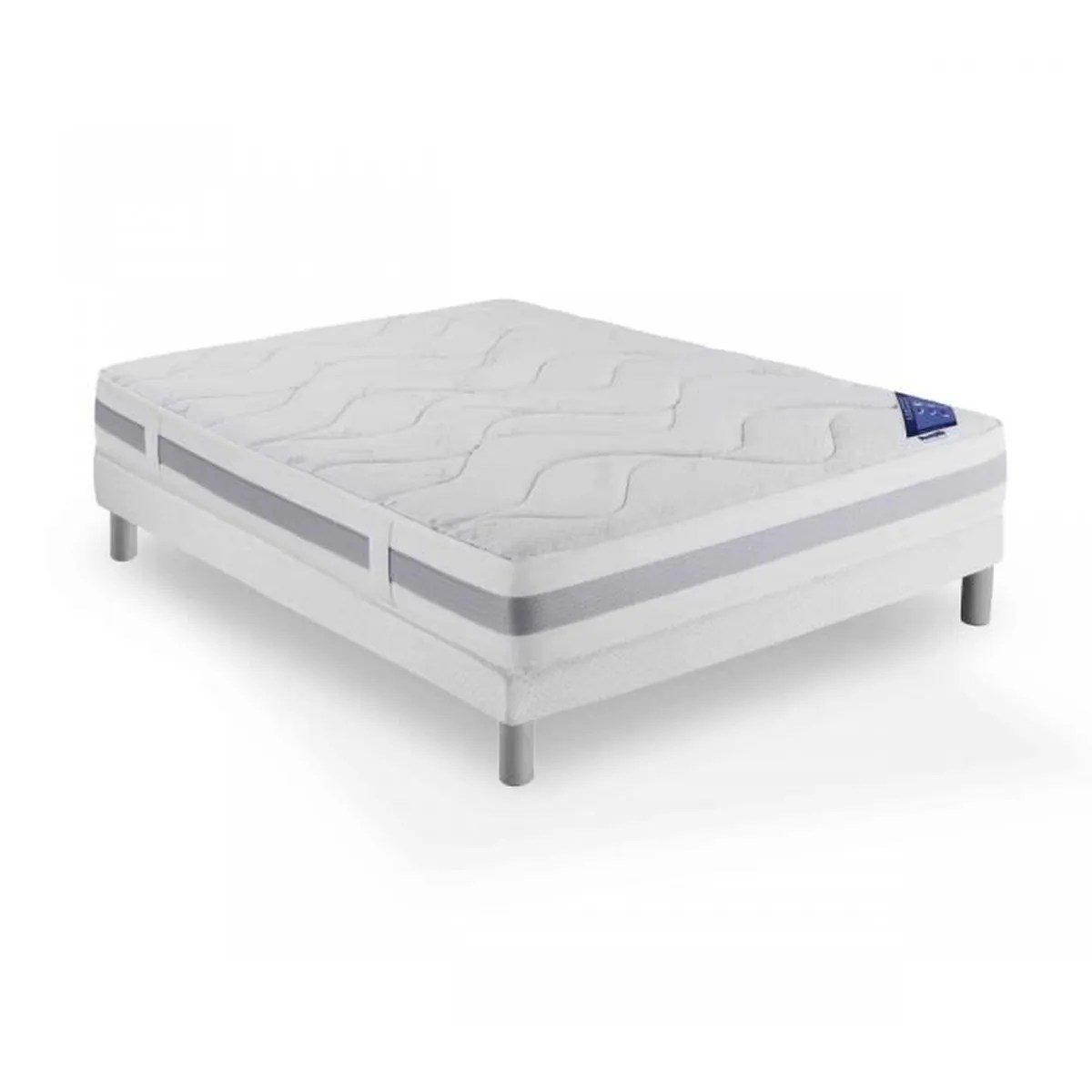 Matelas Dunlopillo Latex 160x200 Ensemble Dunlopillo Couchage Latex Connecting 3 Sommier Pieds