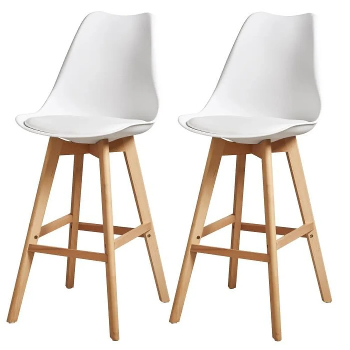 Tabourets Malvy Lot De 2 Tabouret De Bar Pas Cher Latest Lot De Tabourets De Bar