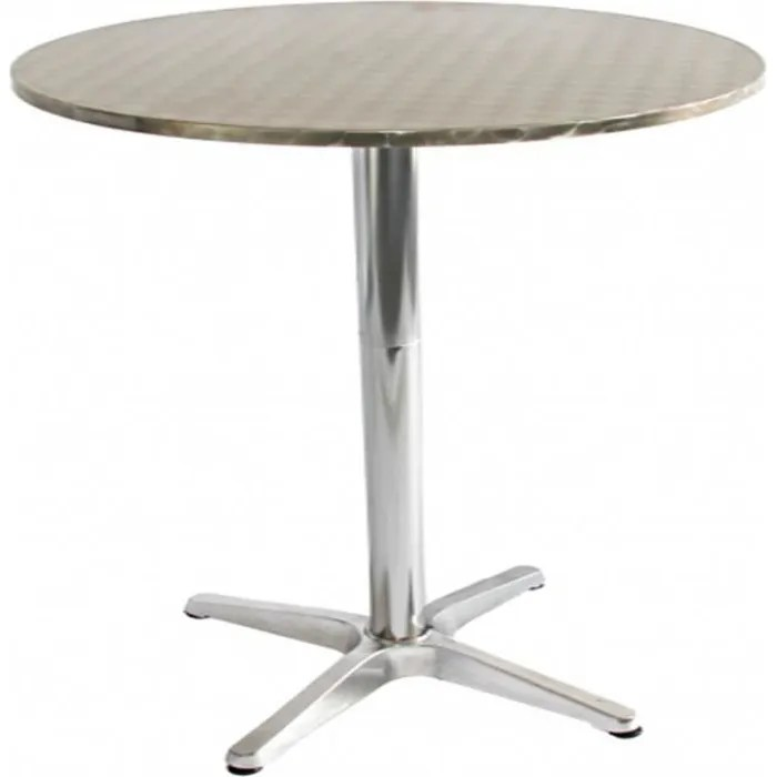 Mobilier Exterieur Restaurant Occasion Table Ronde Exterieur Aluminium – Meuble De Salon Contemporain