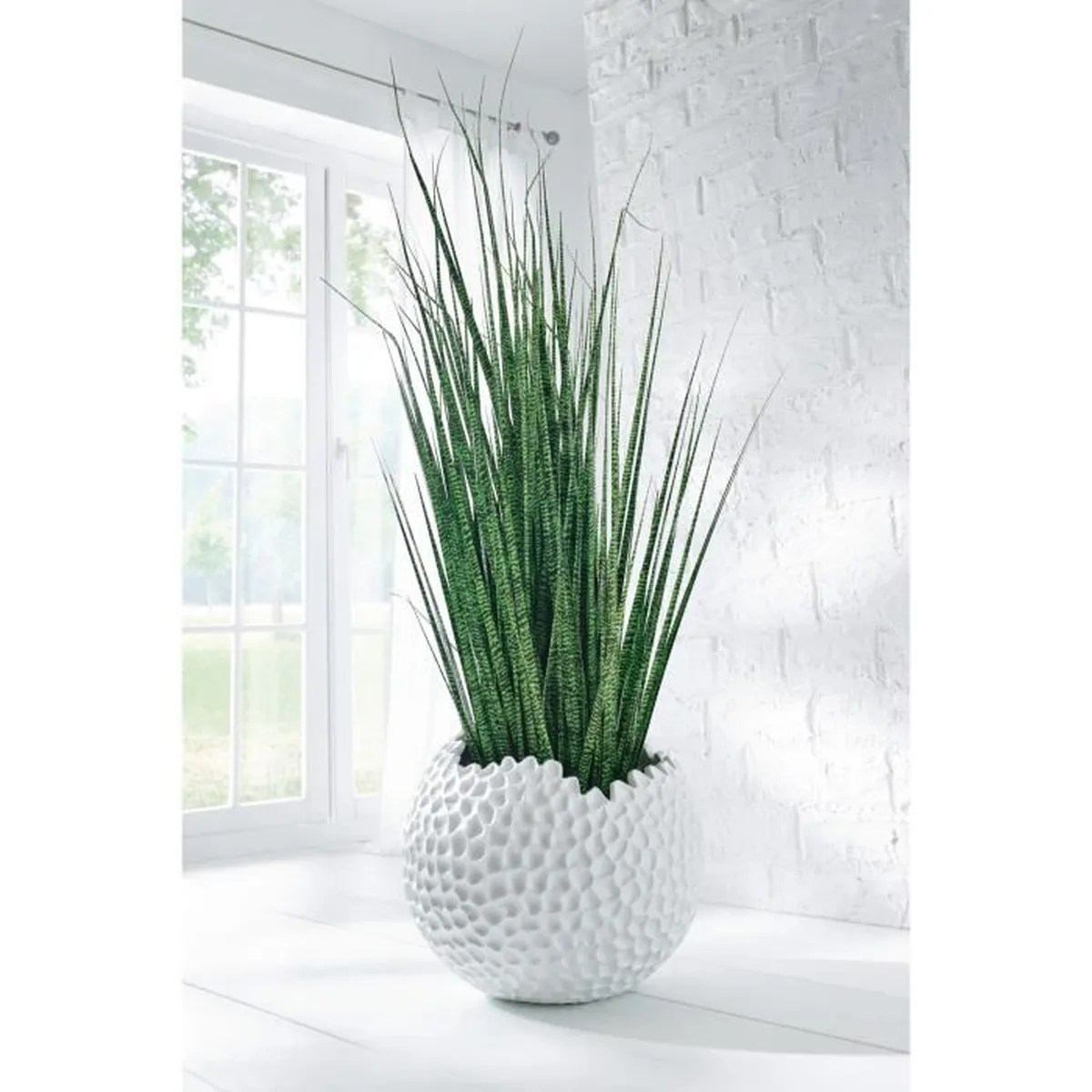 Cdiscount Salon De Jardin Pureday Cache-pot Pour Plantes, Surface Originale, En