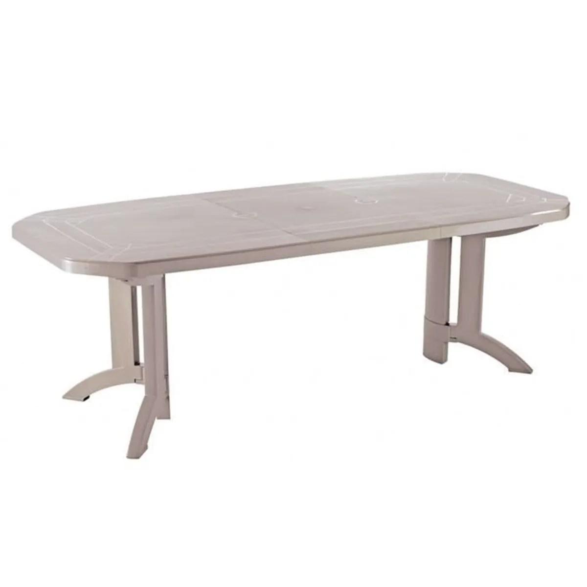Table De Jardin Extensible 12 Places | Table De Jardin Plastique 12 ...
