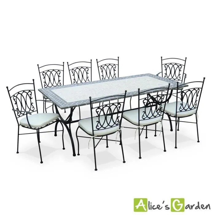 Table Jardin Zellige