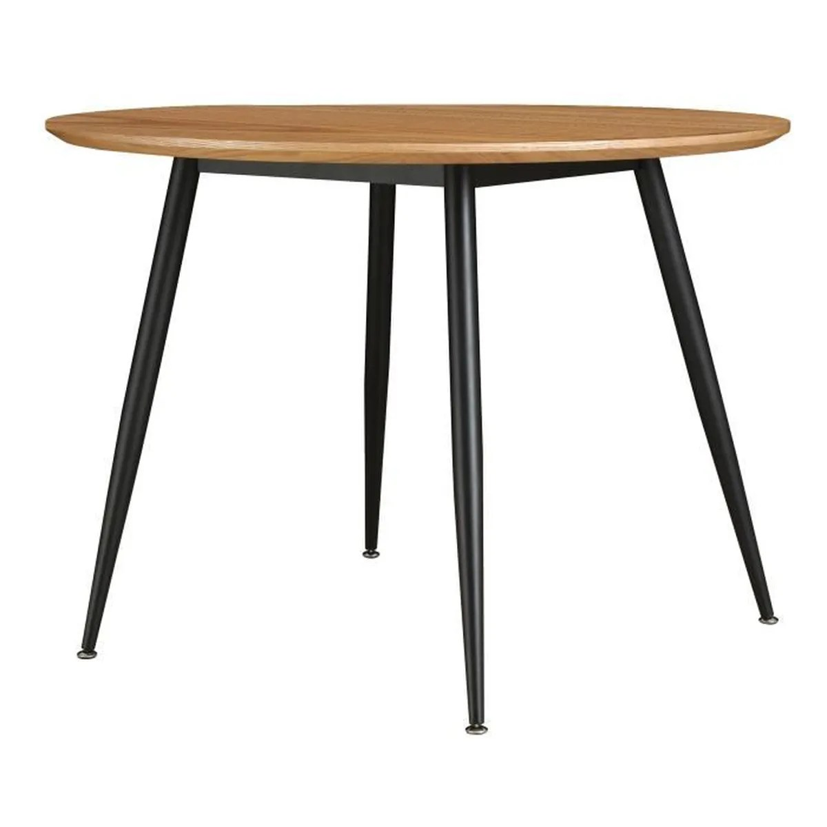 Table Ronde 100 Cm Table Ronde Oulu 100 Cm Bois Clair Achat Vente Table A