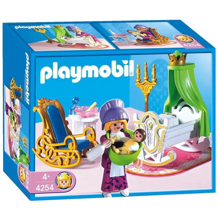 Chambre Princesse Playmobil | Chambre De Princesse Avec Berceau ...