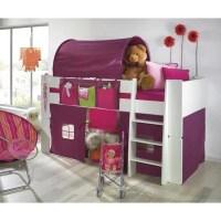 Lit Mi Hauteur Fille - Maison Design - Wiblia.com