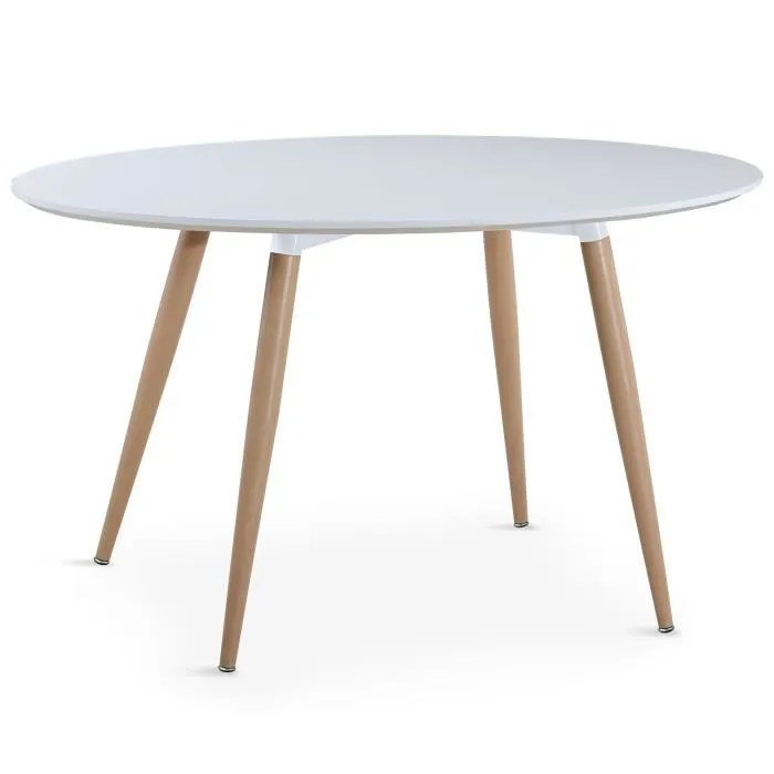 Table Ronde Ovale Table Ronde 120 Cm - Achat / Vente Pas Cher