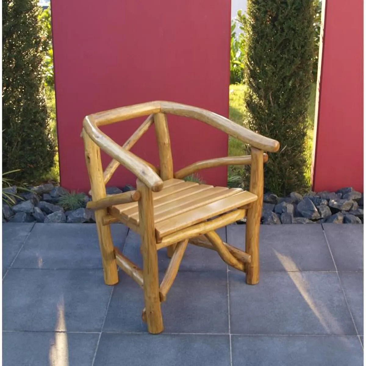 Chaise Salon En Bois