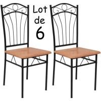 Chaise fer - Achat / Vente pas cher