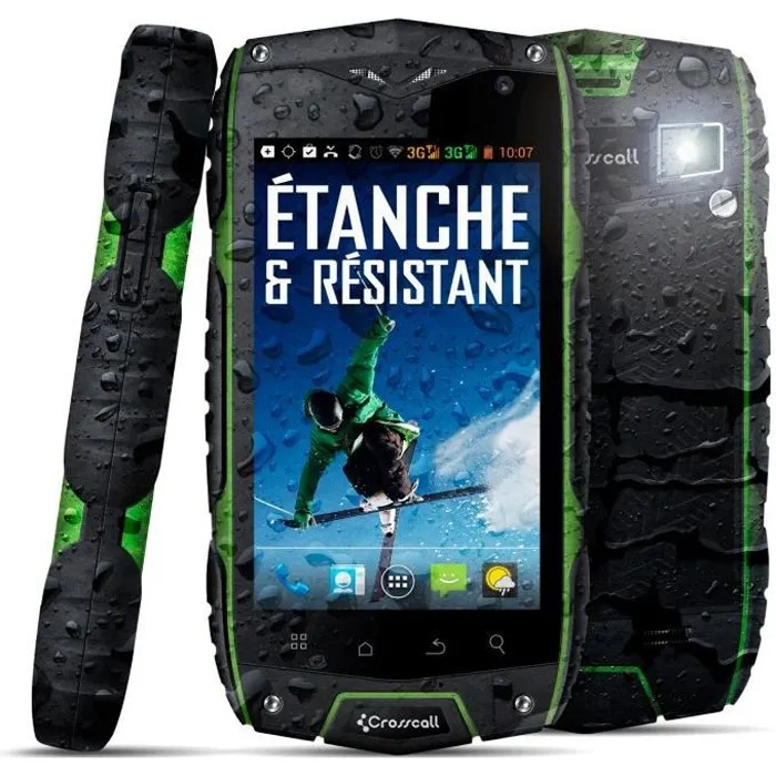 Forfait Telephone Portable Pas Cher Crosscall Odyssey+ Military Anti-choc - Achat Smartphone