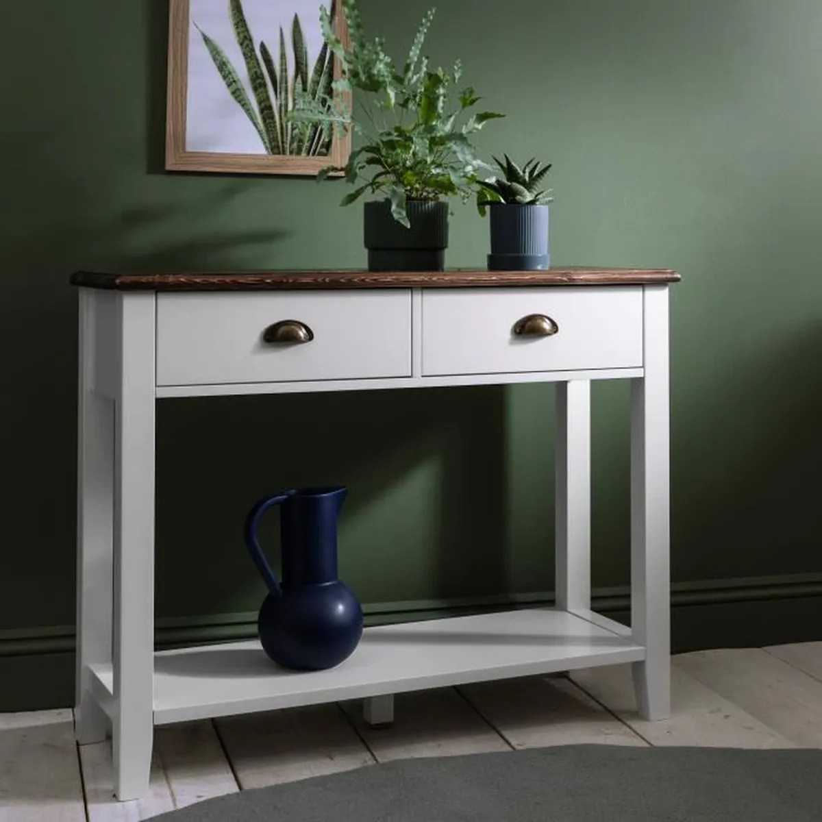 Console Pour Couloir Chatsworth Table Console Blanc