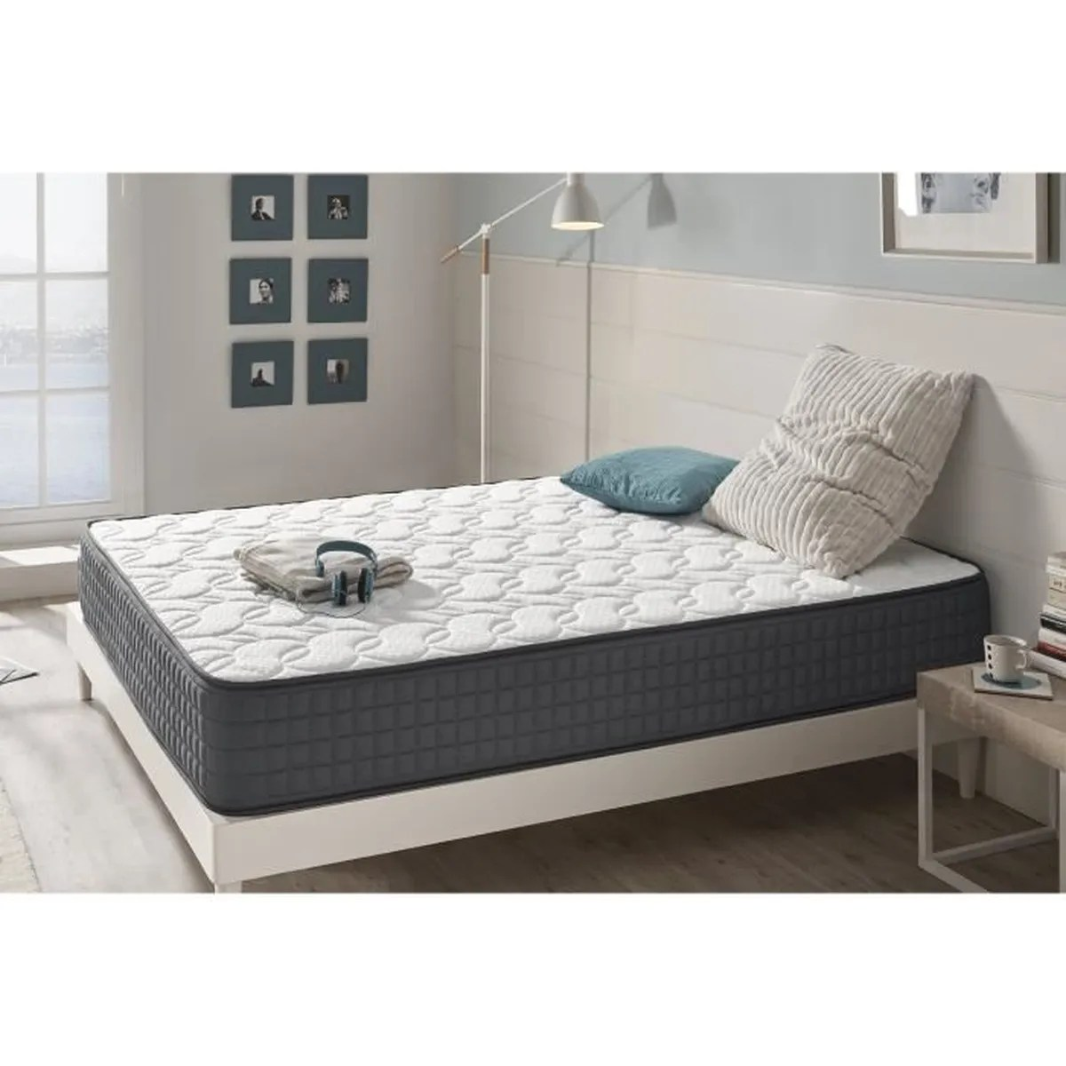 Matelas Latex Memoire De Forme 160x200 Matelas En Mousse Hr Effect Mémoire Visco-graphene 140x190