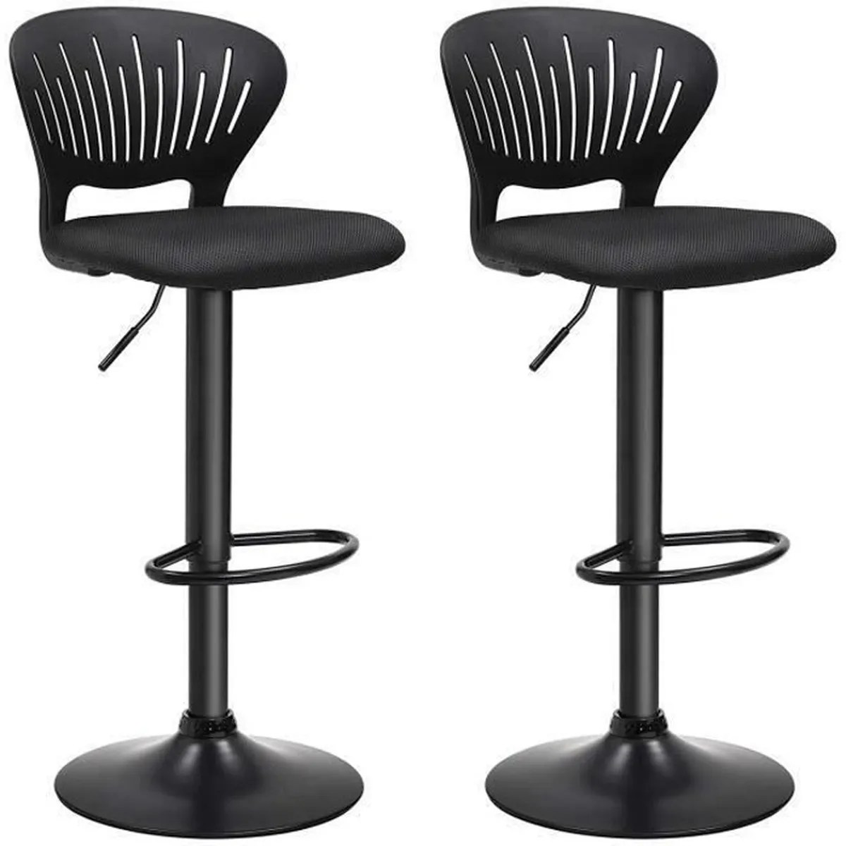 Songmics Lot De 2 Tabourets De Bar Stool Songmics Lot De 2 Tabourets De Bar Hauteur Réglable 85 107 Cm