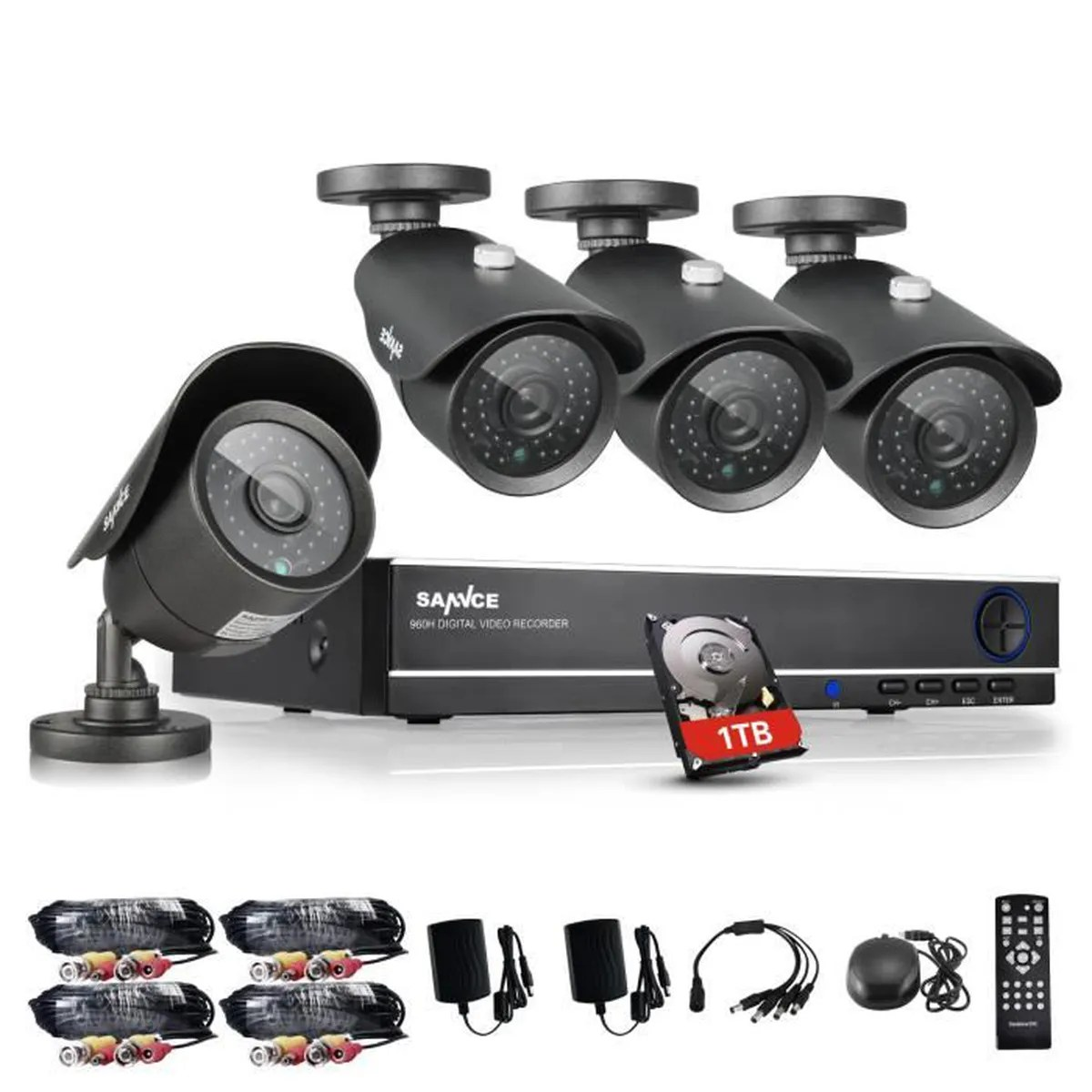 Camera Exterieur Video Surveillance Camera De Surveillance Exterieur Kit Camera Surveillance