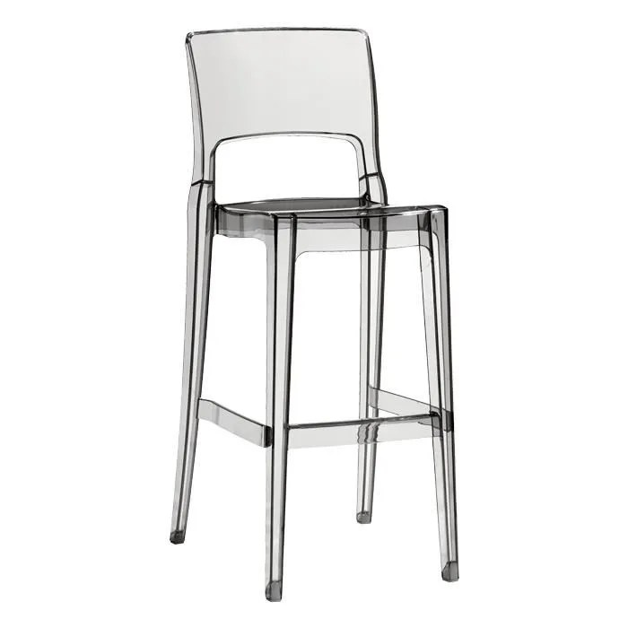 Mange Debout Cdiscount Tabouret De Bar Design Transparent - Isy Antishock