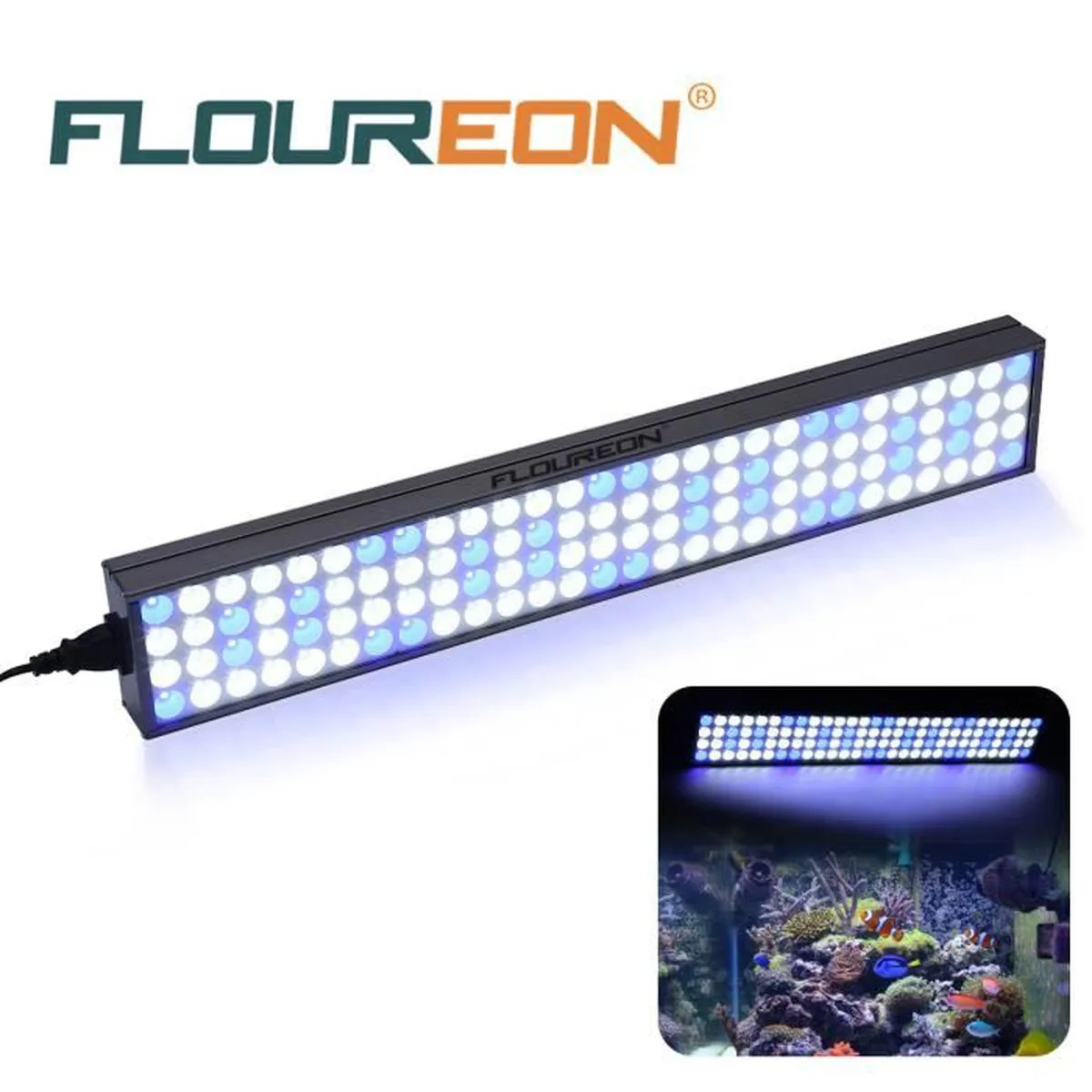 Eclairage Led Aquarium Eau Douce Floureon 60w 25 112pcs Led Aquarium Lampe Eclairage Poisson L Eau