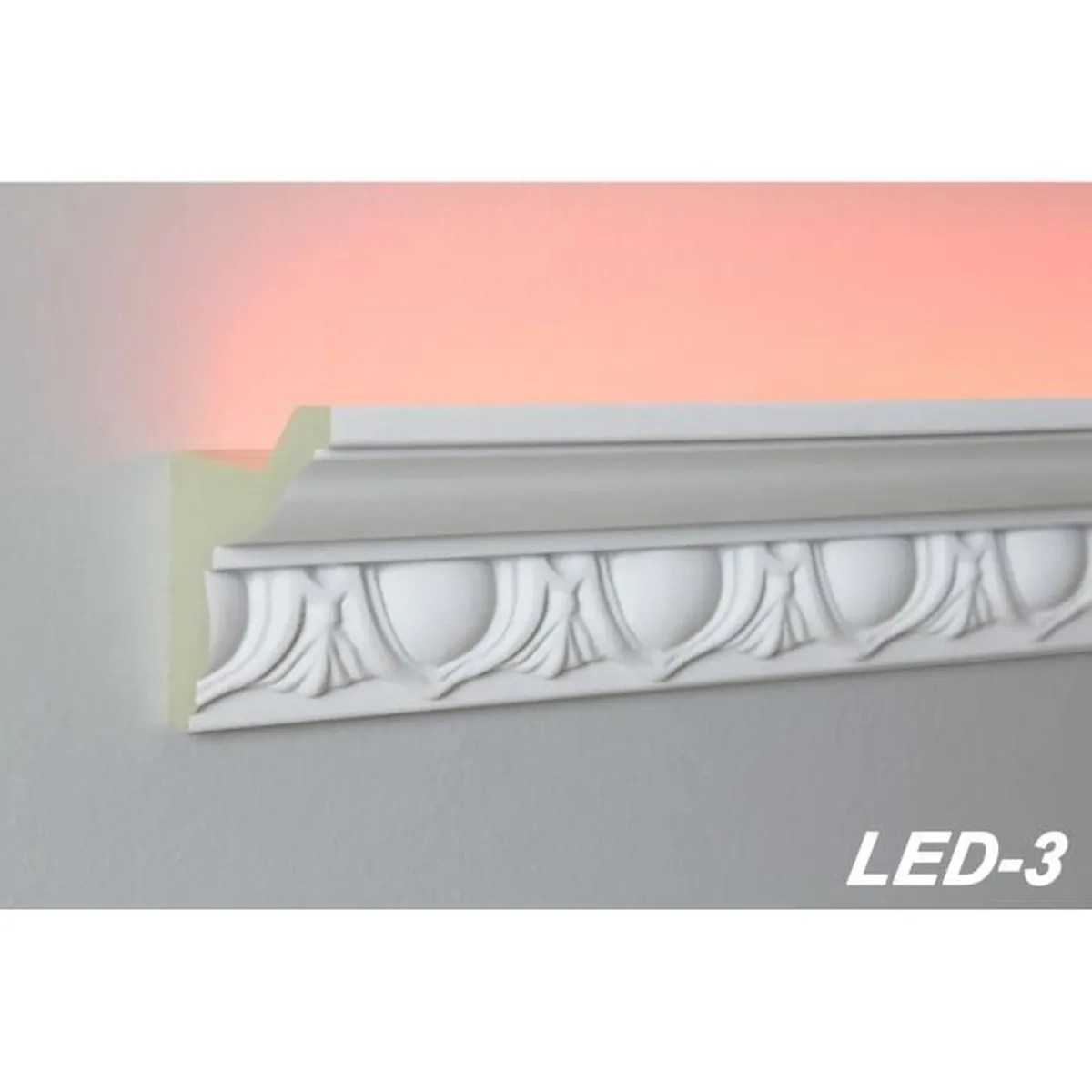 Corniche éclairage Indirect Led Corniche Plafond Eclairage Indirect