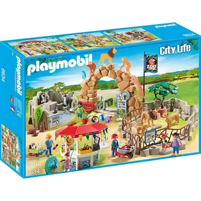 Playmobil City Life Küche Müller Playmobil 6634 Grand Zoo - Achat / Vente Univers Miniature