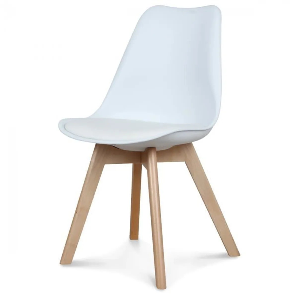 Chaise Blanche Cdiscount Chaise Scandinave Blanche Achat Vente Chaise