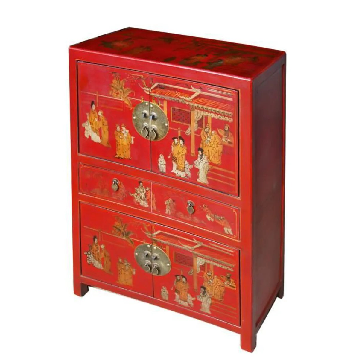 Meuble Chinois Rouge Meuble De Rangement Chinois Rouge Collection Ming