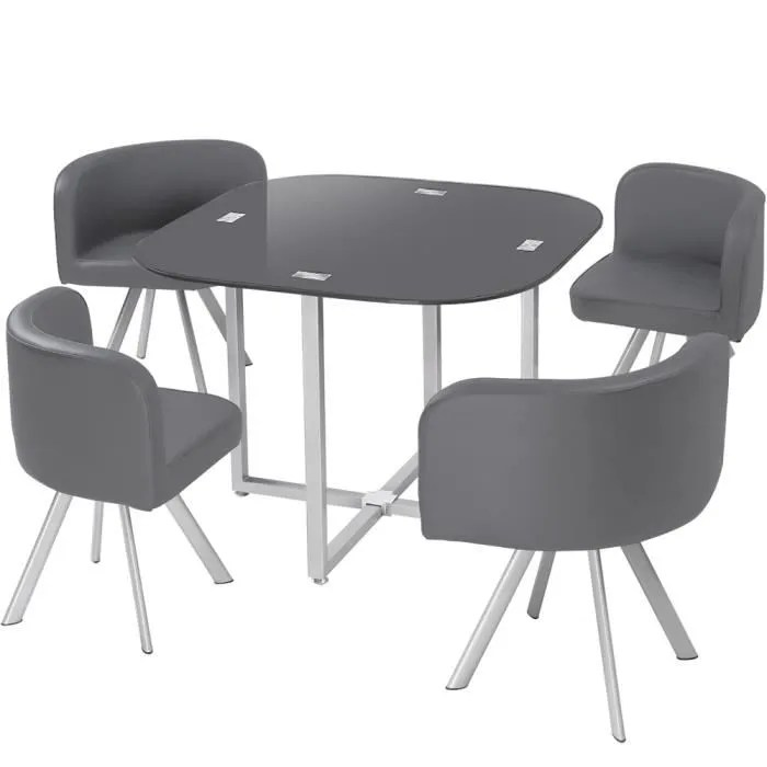 Table Et Chaise Cdiscount Table Et Chaise Gain De Place - Achat / Vente Table Et