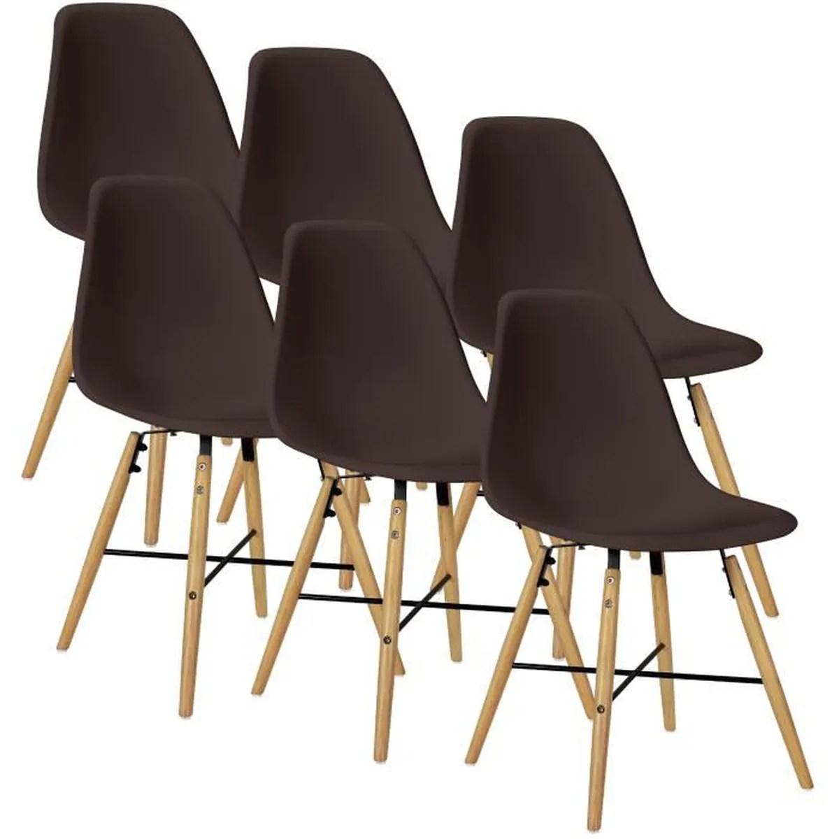 Chaise Design Plastique Salle A Manger | Chaise Moderne Sofy Noire ...