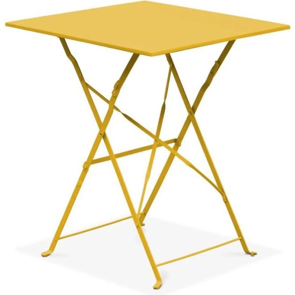 Table De Terrasse Pliante