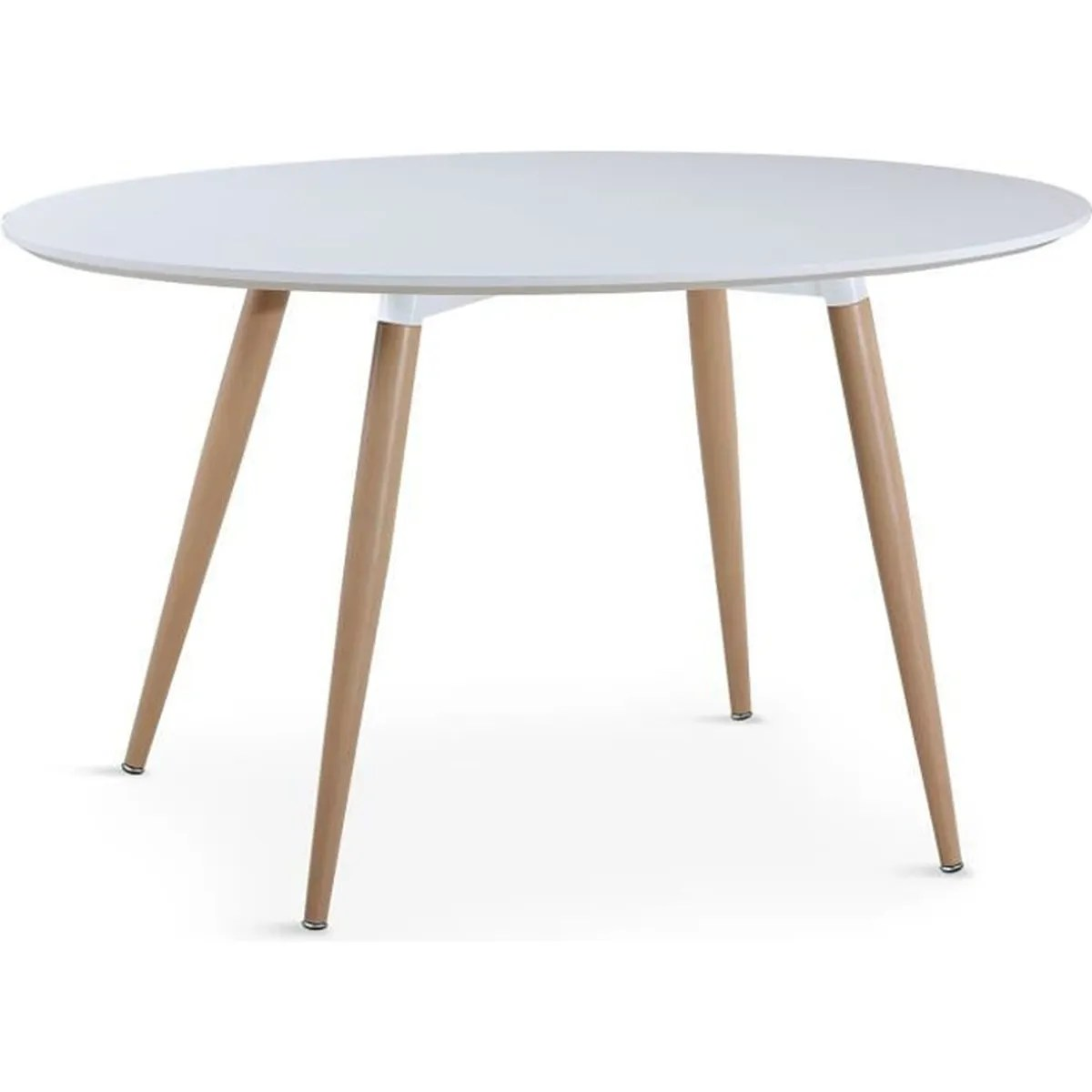Table Manger Scandinave Table Ovale Scandinave Lunea Blanc