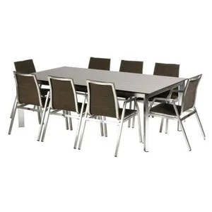 Table Exterieur Hesperide | Table Livourne Exterieur Gris 200 Cm ...