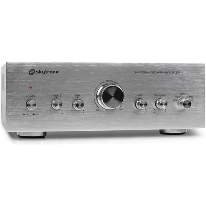 Ampli Hifi Pas Cher Skytronic Surround Power Amplifier Ampli Hifi Aux