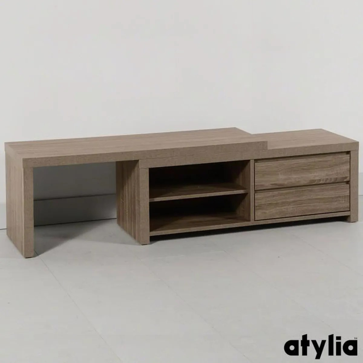 La Redoute Interieur Meuble Tv Atylia Meuble Tv Meuble Tv Dangle Chne Massif Edgar La