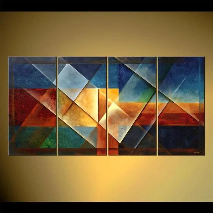 Tableau déco tableaux toiles tableaux contemporain décoration maison
