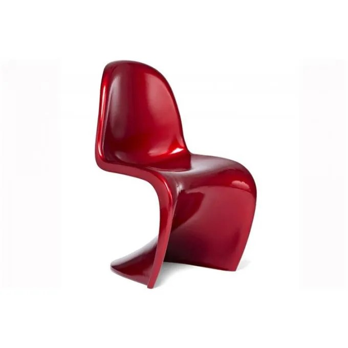 Chaise Design Rouge Chaise Design Phantom Rouge - Achat / Vente Chaise Rouge
