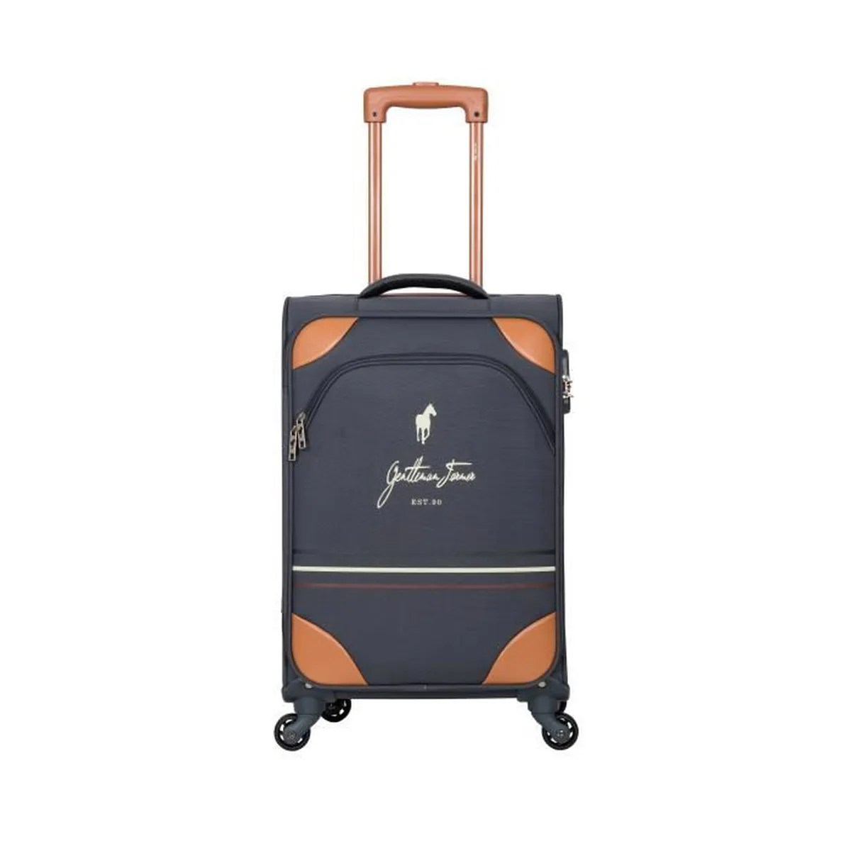 Bagage Week End Valise Weekend Polyester Souple 65cm Matthew Gris Fonce