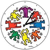 Horloge Keith Haring - Achat / Vente horloge - Cdiscount