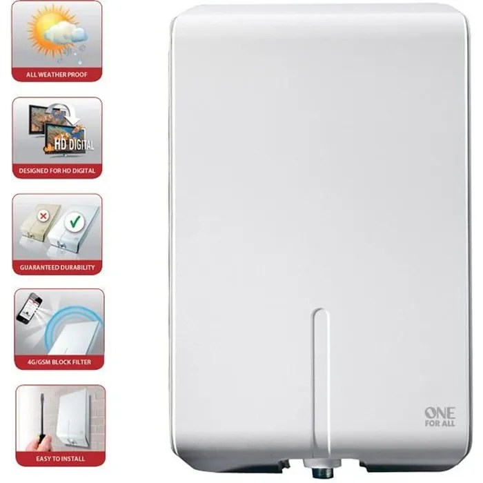 Antenne 4g Exterieur One For All Sv 9455 Antenne D'extérieur - Antenne Rateau