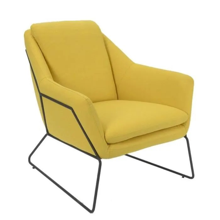 Chaises Dsw Blanches Fauteuil Filaire Jaune - Achat / Vente Chaise Jaune