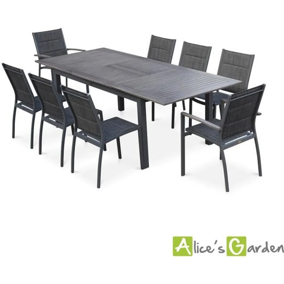 Table De Jardin Extensible 10 Personnes Table De Jardin Rallonge - Maison Design - Wiblia.com