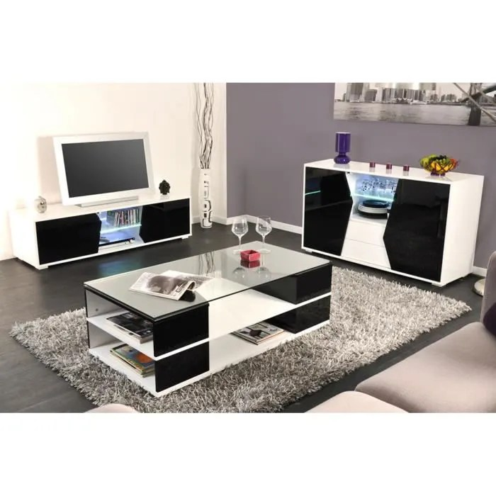 Ensemble Meuble Tv Buffet Ensemble Meuble Tv + Table Basse + Buffet Noir … - Achat