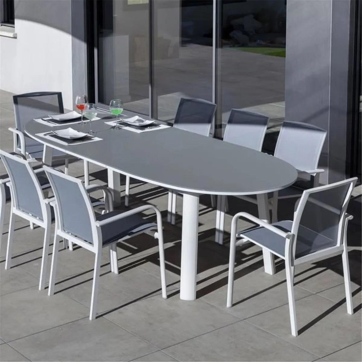 Table De Jardin En Verre | Table De Jardin Kare Free Original 100 X ...