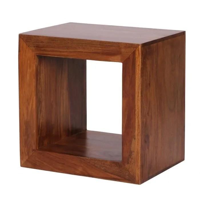 meilleure sélection 62b8e 348c8 Cube Bois Massif
