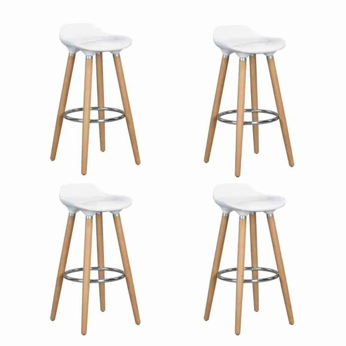 Songmics Lot De 2 Tabourets De Bar Stool Chaise Haute Bar Achat Vente Chaise Haute Bar Pas Cher