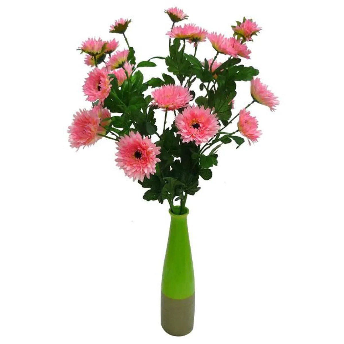 Deko Discount 24 Fleur Artificielle Deco 24 Marguerites 4 Tiges De 6 82
