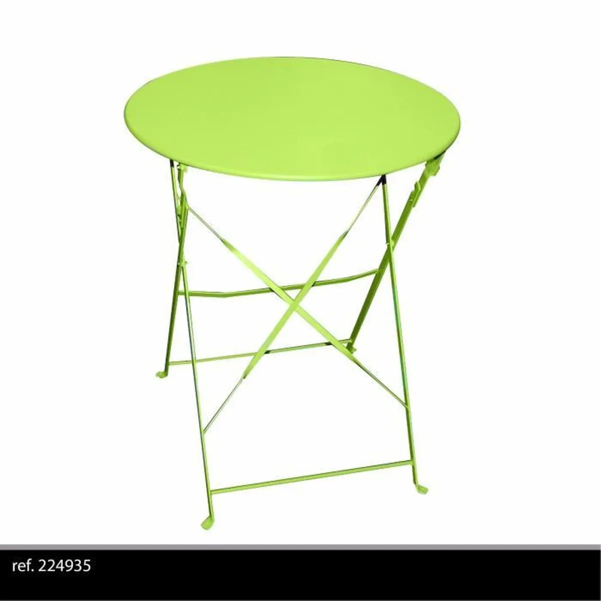 Table Exterieur Ronde Table Ronde De Jardin En Metal Bistro Cafe Salon Pliante Verte Pliable Exterieur