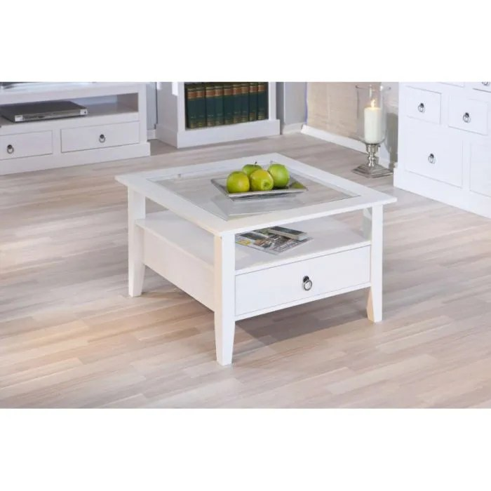 Ikea Liatorp Couchtisch Table Basse En Pin Blanc - Achat / Vente Table Basse Table