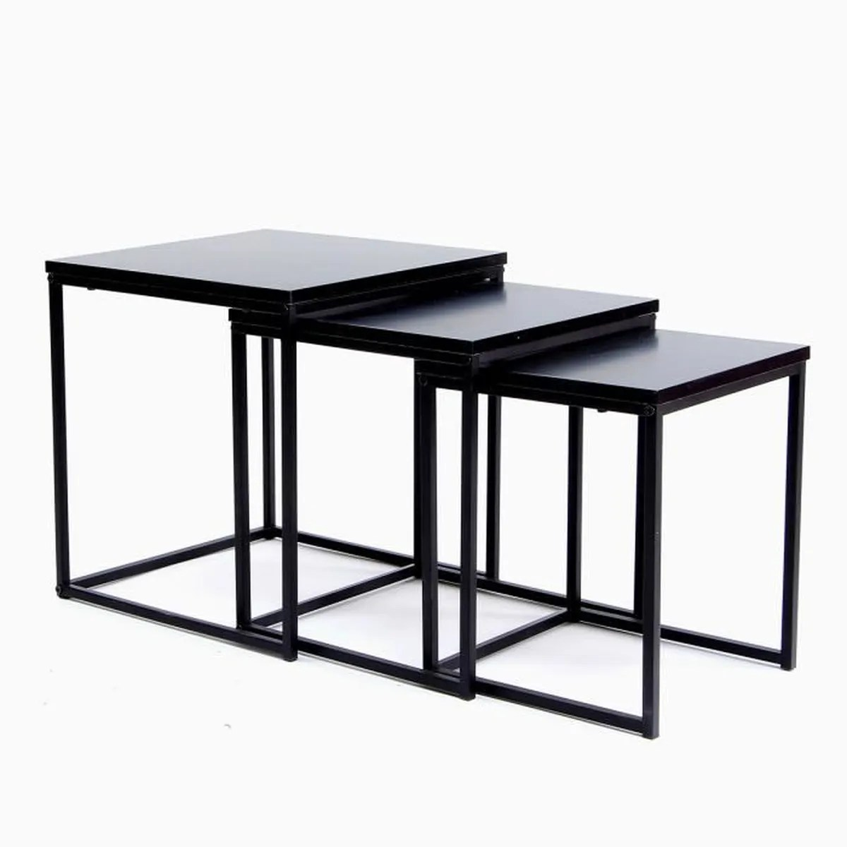 Store Banne Manuel La Redoute Table Gigogne Metal Table Gigogne M Tal Th Oleine The