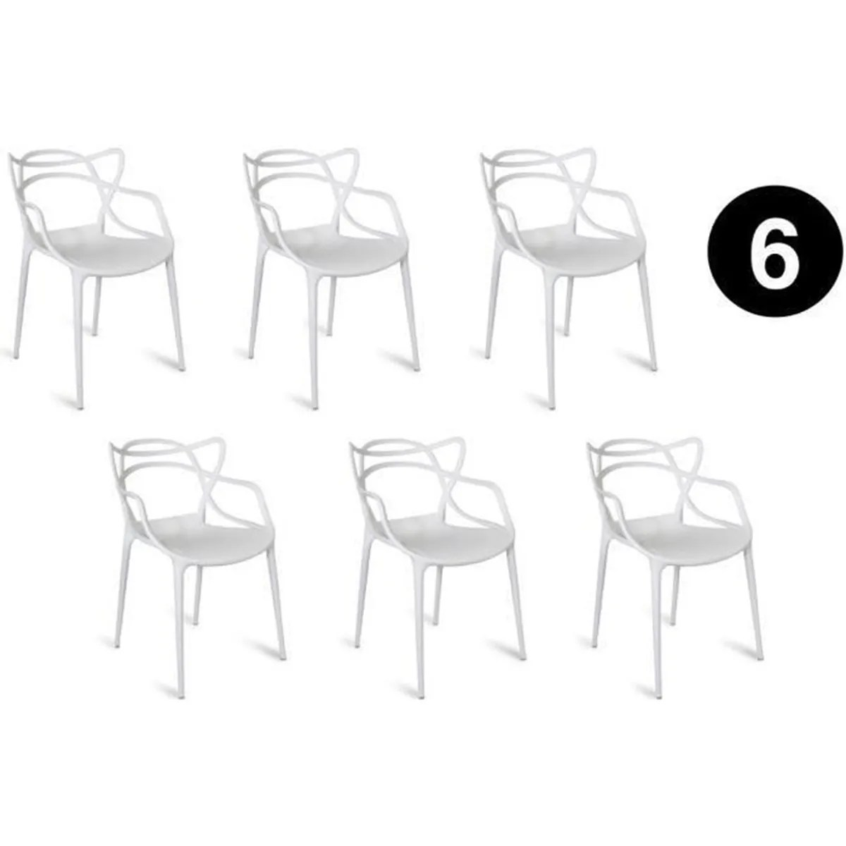 Chaises Masters Pas Cher Chaises Masters Cool Chaise Lot De Chaises Masters Blanc