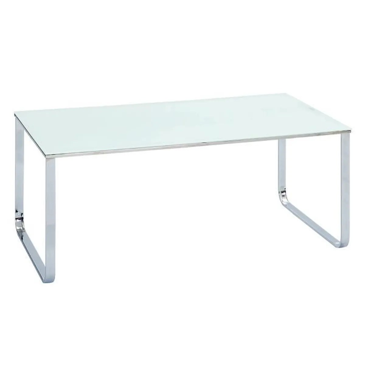 Table Blanche Rectangulaire Samira Table Basse Rectangulaire Blanche Achat Vente