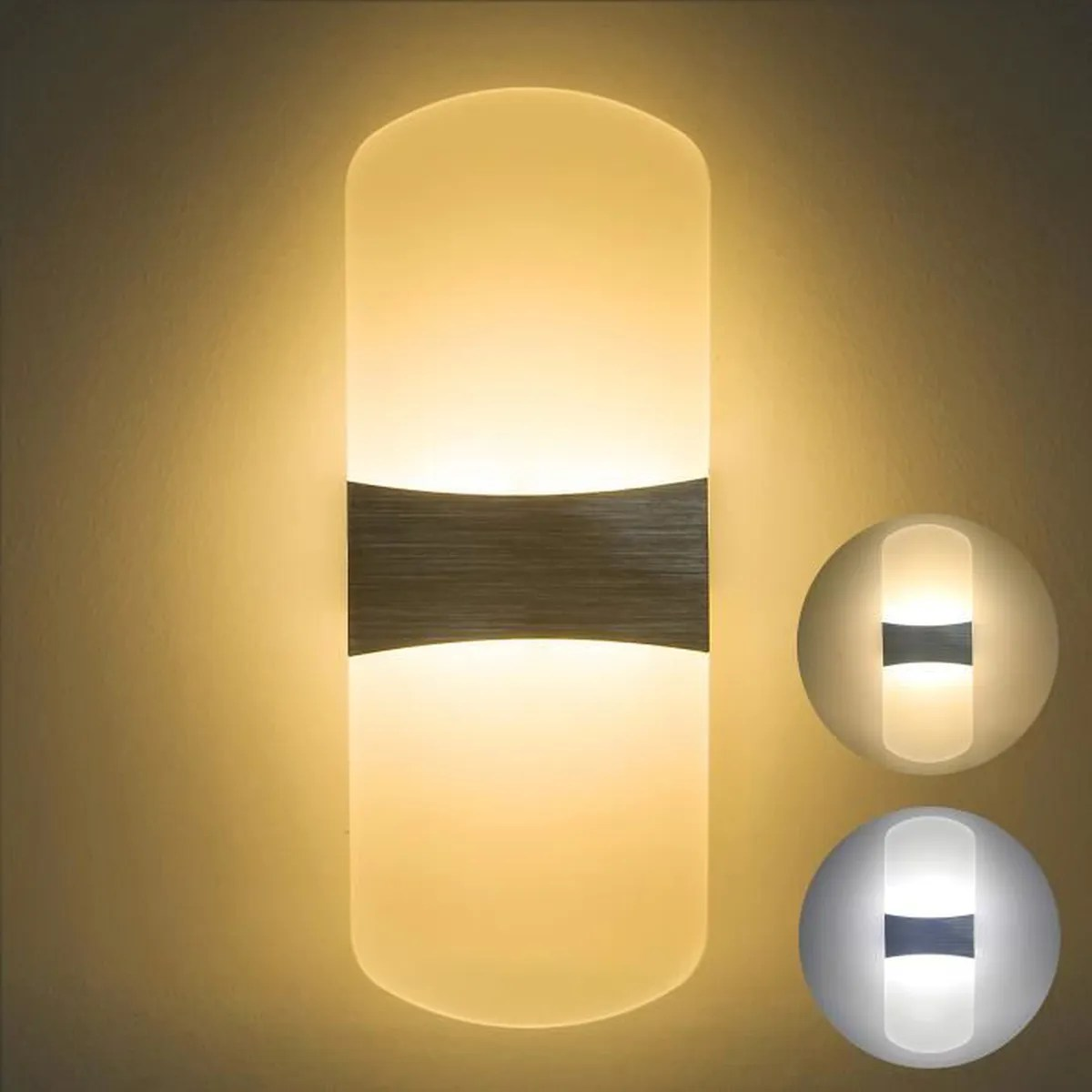 Eclairage Led Mural Interieur Netboat 6w Moderne Aluminium Led Applique Murale Interieur